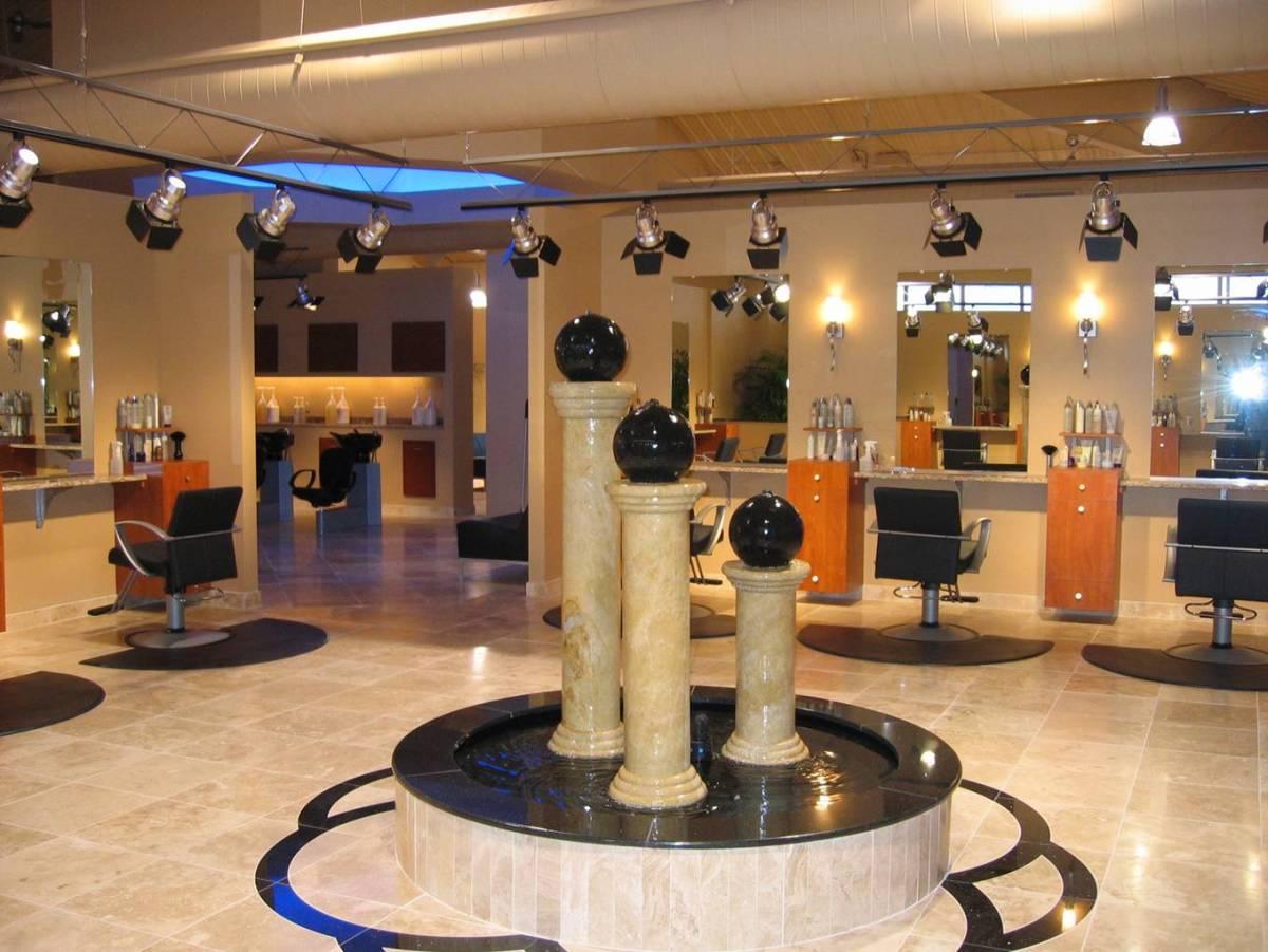Salon aura keller builds for Salon spa 2